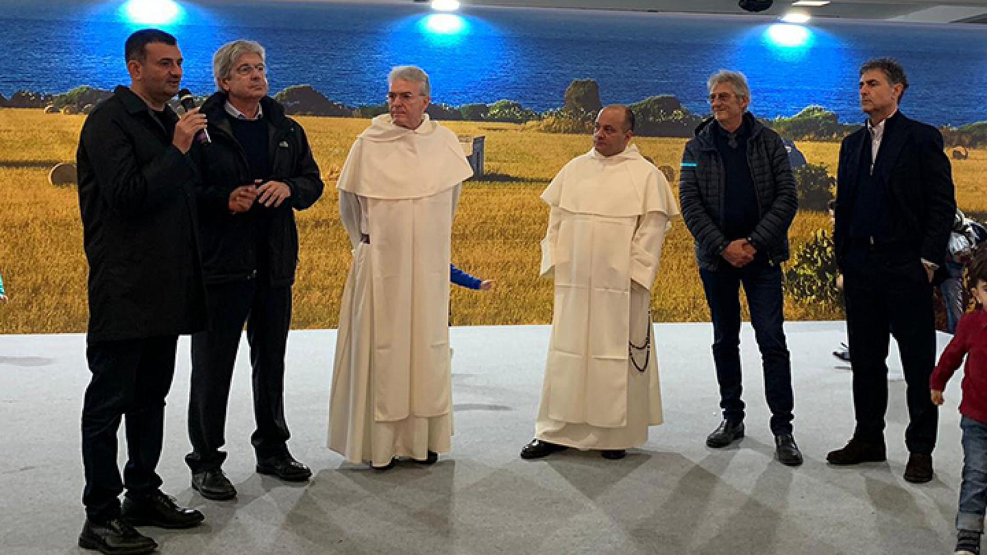 L'inaugurazione ufficiale del villaggio di San Nicola